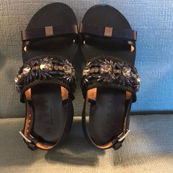 9d9987545 Marni Jeweled Sandals. M 5b44f536e944ba878854e65f